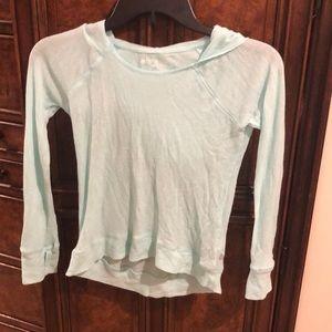 3/$15 Zella girl light green top